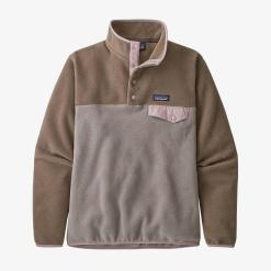 Patagonia Lightweight Synchilla Snap-T Fleece Pullover Furry Taupe FRYT