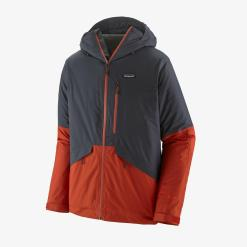 Patagonia Insulated Snowshot Jacket Smolder Blue SMDB