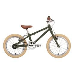 Siech 16″ Kids Bike Boy Army Green