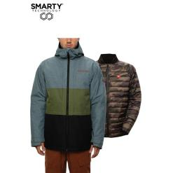 686 Smarty 3in1 Form Jacket Goblin Blue Heather Colorblock