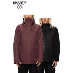 686 Smarty 3in1 Spellbound Jacket Plum Diamond Texture