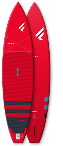 Fanatic 2021 Ray Air 11'6″ x 31″ Red