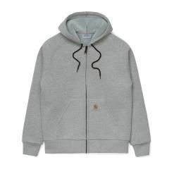 Carhartt Car-Lux Hooded Jacket – Grey Heather / Grey
