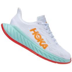Hoka Carbon X 2 White / Blazing Orange