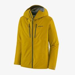Patagonia Men's Triolet Jacket Textile Green w/Smolder Blue TGBE