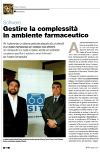 case study sit farmaceutici
