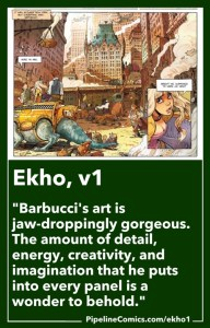 "Ekho volume 1 ""New York"" Pipeline BD 100 review"
