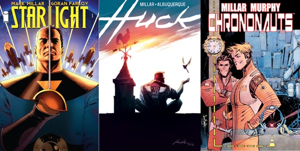 Three Millarworld Titles - Starlight, Huck, Chrononauts
