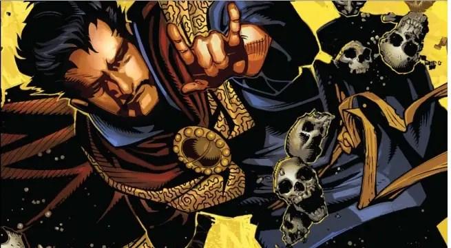 Doctor Strange 1 cover detail
