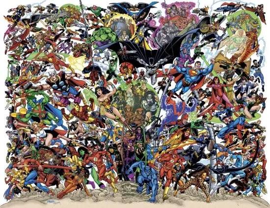 JLA/Avengers #3 cover