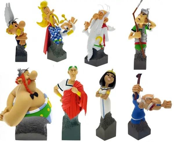 Attakus Asterix statues