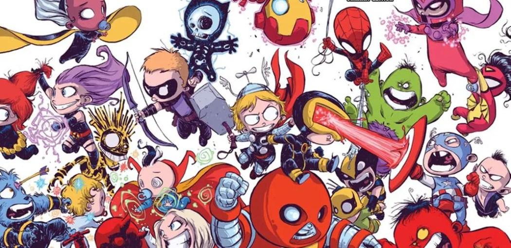 Avengers vs X-Men Skottie Young cover