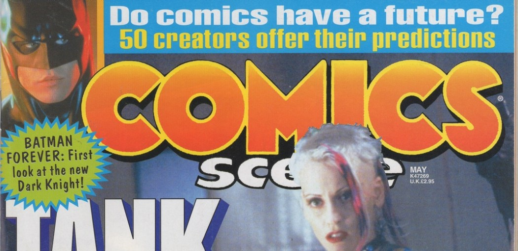Comics creators predict the future in 1995