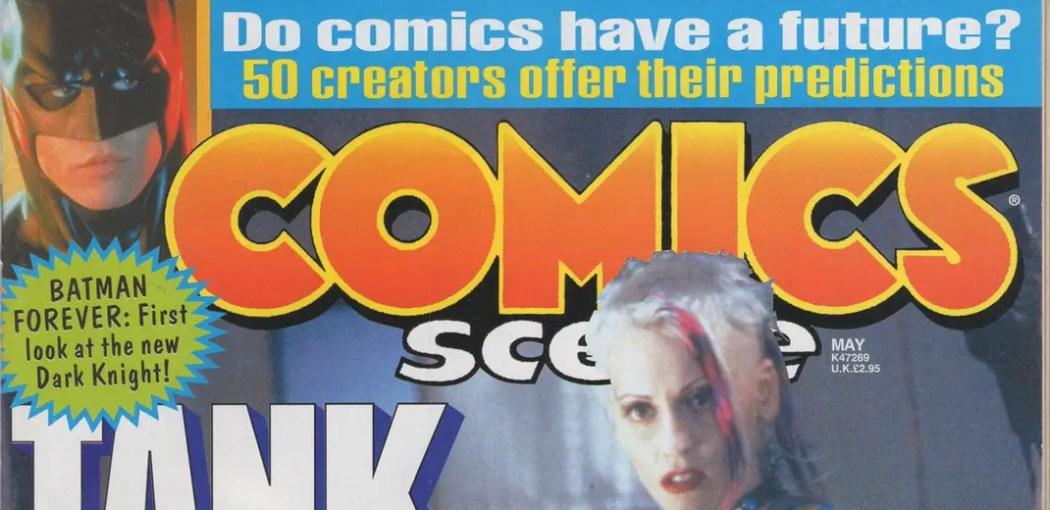 Comics creators predict the future in 1995
