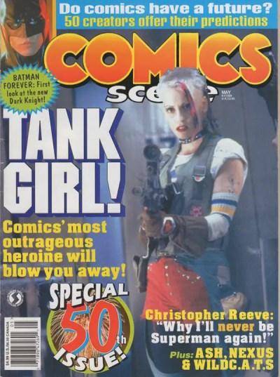 Comics Scene #50 cover