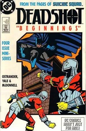 Deadshot #1 cover