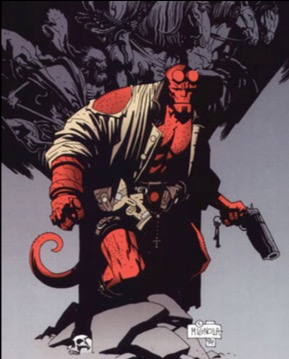 Hellboy Mignola no feet