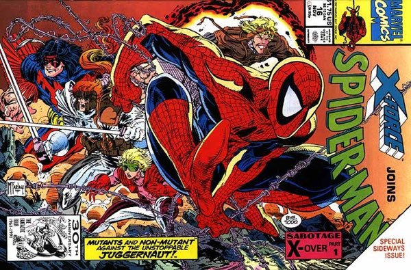 Spider-Man #16 cover by Todd McFarlane