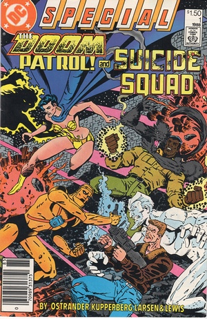 Suicide Squad Doom Patrol Special cover
