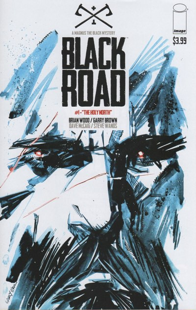Black Road #1 cover