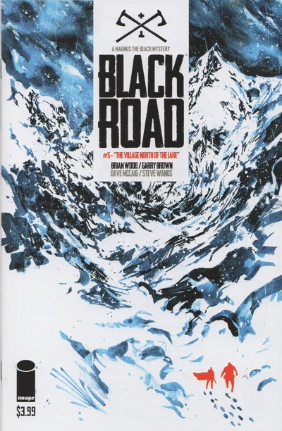 Black Road #5 cover