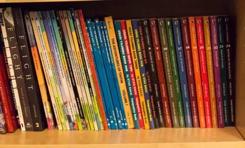 Comics bookshelf