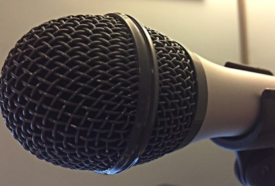 This is the Podcast Microphone I used the ATR2100