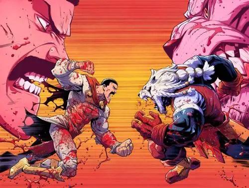 Invincible Thragg versus Battle Beast