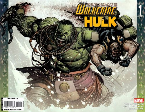 Ultimate Wolverine vs Ultimate Hulk