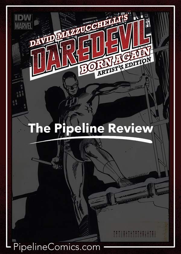 Daredevil Born Again Artist's Edition: The Pipeline Review Pinterest image
