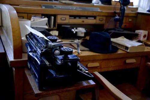 Tom Brevoort's desk