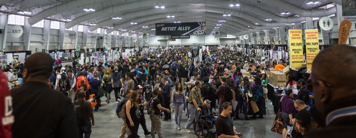 NYCC 2016 Artist's Alley