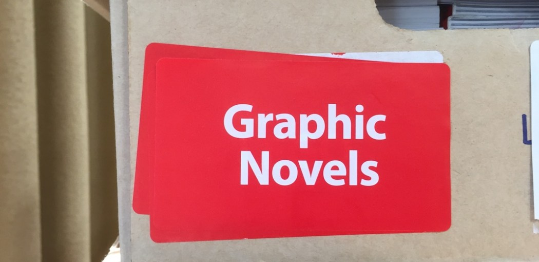 Scholastic Book Fair graphic novels box