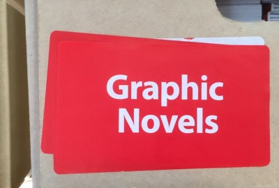 Scholastic Book Fair graphic novels box