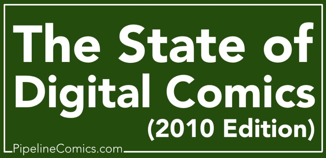 State of Digital Comics 2010