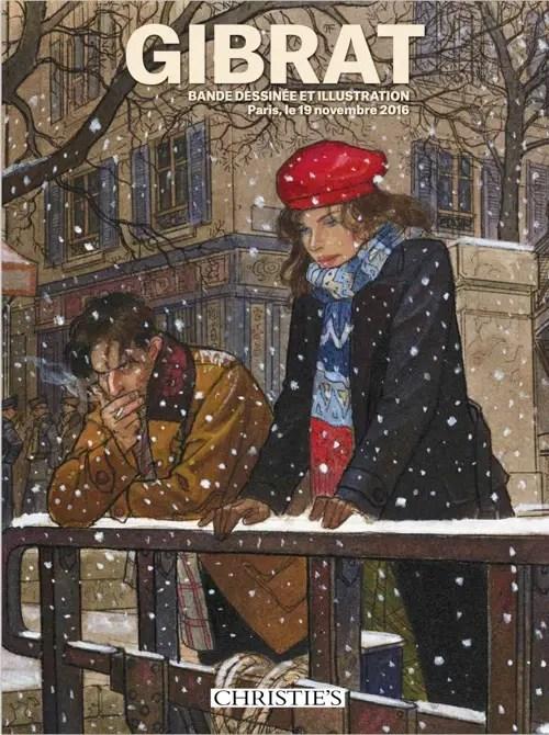 Jean-Pierre Gibrat auction catalog cover