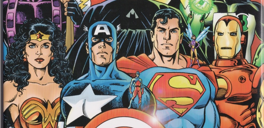 Marvel and DC teamed up for JLA/Avengers, one last hurrah, really
