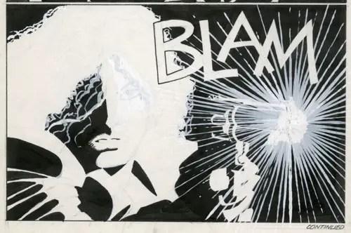 Sin City Blam Printed Art