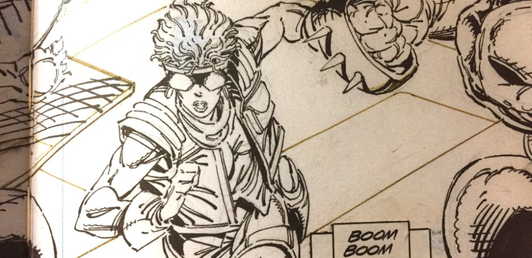 X-Force #1 by Rob Liefeld and a non-India Ink marker