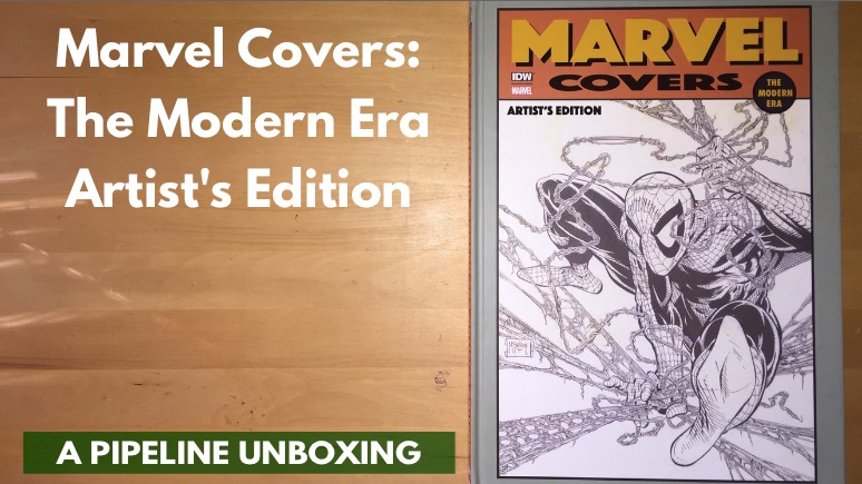 Marvel Covers The Modern Era Artist's Edition Unboxing