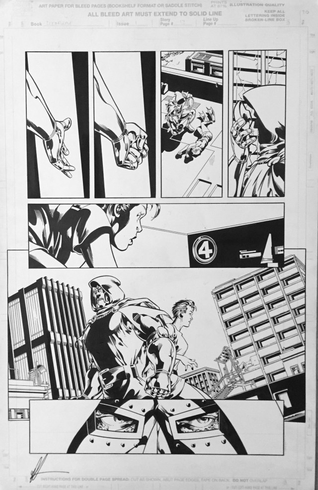 Art for Sale - Pipeline Comics Page on