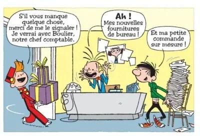 Spirou and Gaston speak another language