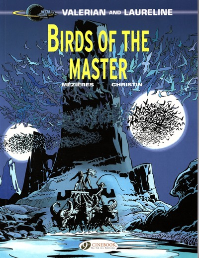 Valeria and Laureline v5: Birds of the Master cover