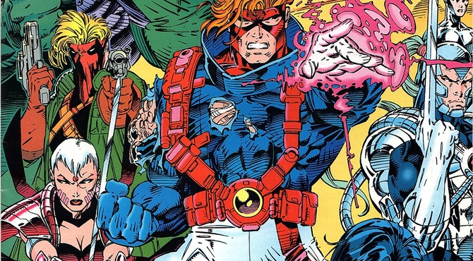 WildC.A.T.s #1 cover by Jim Lee, Scott Williams