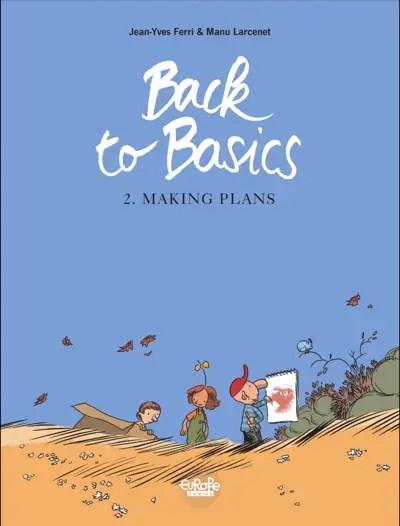 Manu Larcenet Back to Basics v2 cover