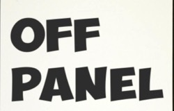Logo of the Off Panel Podcast by David Harper