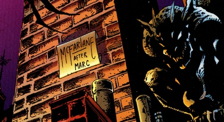 McFarlane CyberForce cover signature scroll