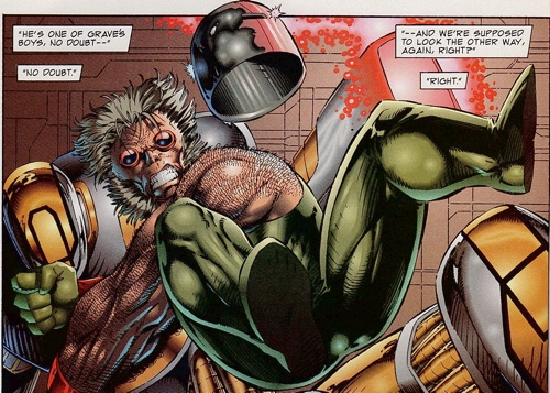 Rob LIefeld's Troll from the pages of Image Zero