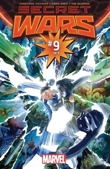 Bonus Secret Wars #9 issue