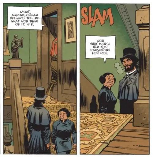 Undertaker has a bad carpet tangent problem. But Ralph Meyer is still an amazing artist.